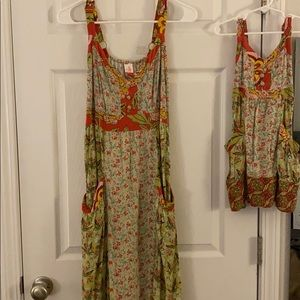 Mommy & Me Matilda Jane Dresses (Medium and 2t)